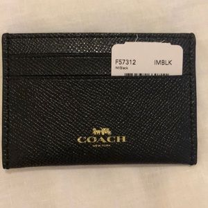 Still available! - Black Coach Card Holder